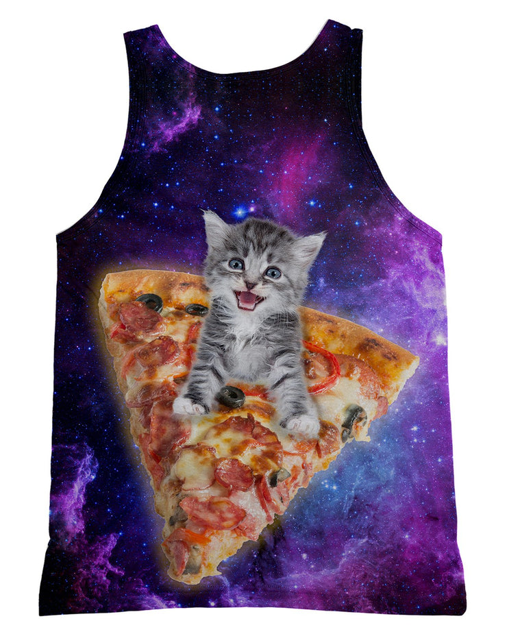 Pizza Kitten Tank-Top