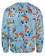 Rainbow Dash Sweatshirt