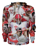 Bryce Harper printed all over in HD on premium fabric. Handmade in California.