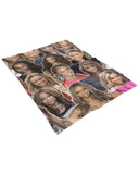 Tyra Banks Fluffy Micro Fleece Throw Blanket