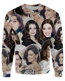 Anne Hathaway printed all over in HD on premium fabric. Handmade in California.