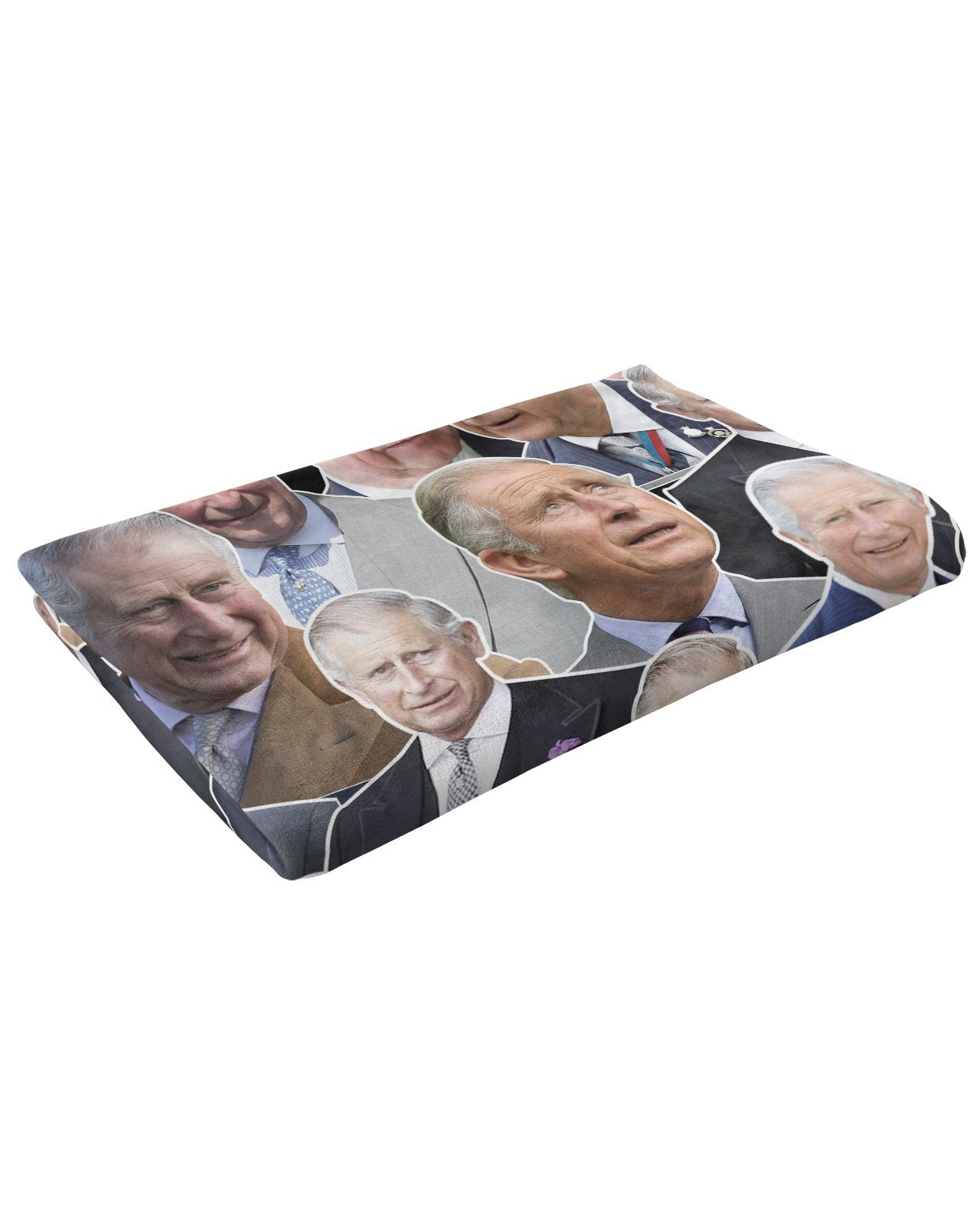 Prince Charles Fluffy Micro Fleece Throw Blanket