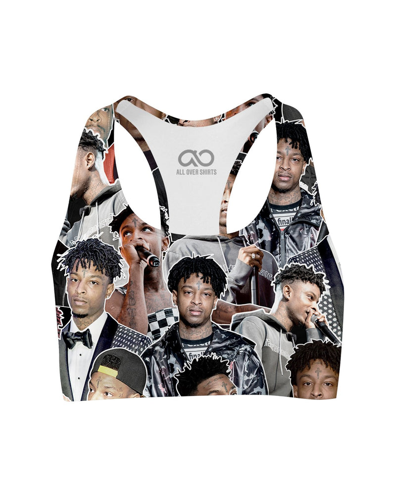 21 Savage printed all over in HD on premium fabric. Handmade in California.
