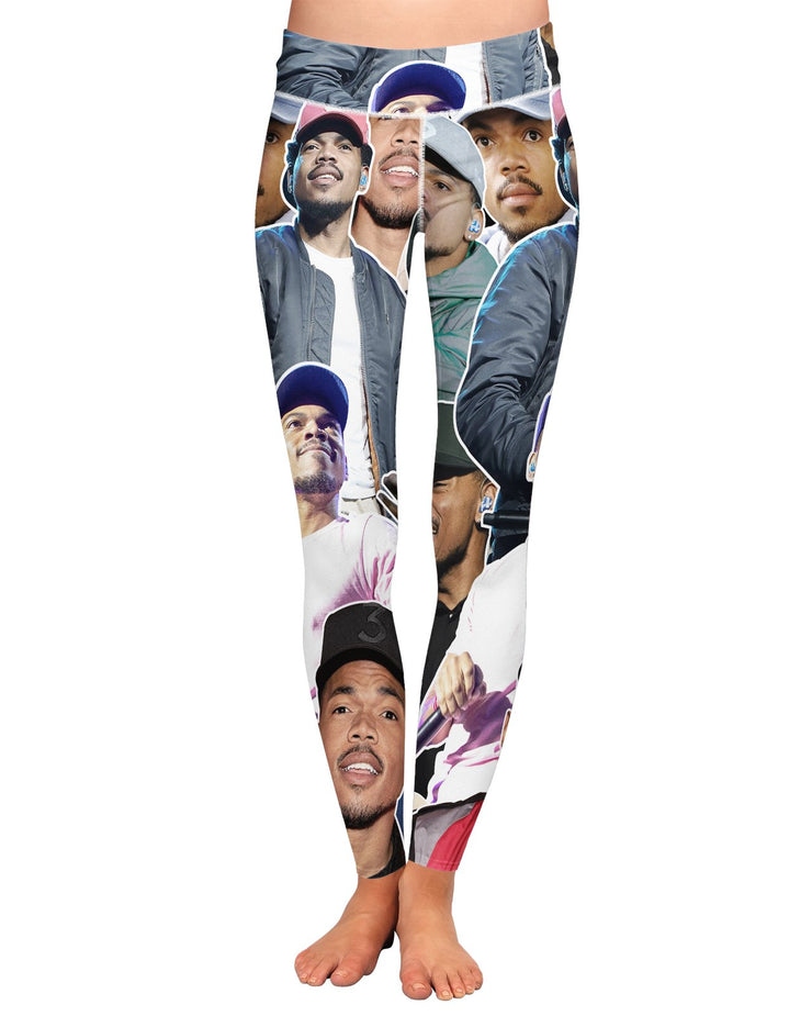 Chance The Rapper printed all over in HD on premium fabric. Handmade in California.