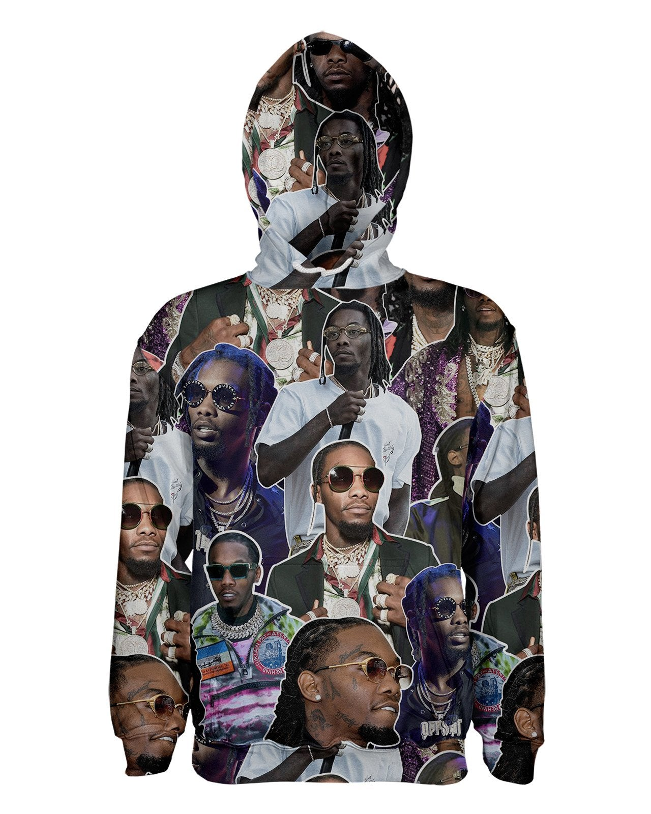 Offset Women's Pullover Hoodie