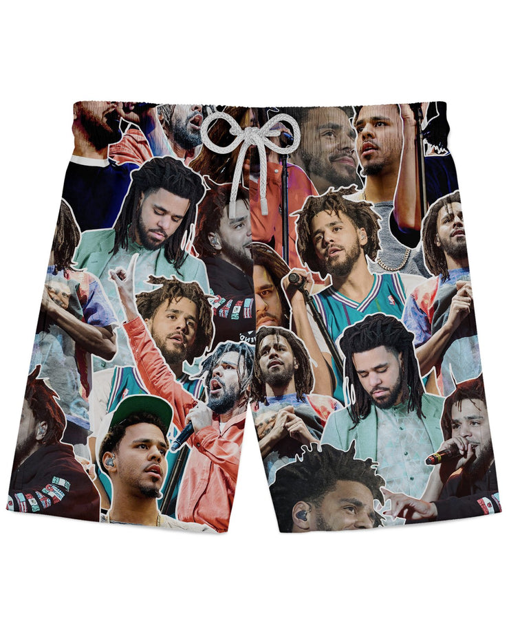 J Cole printed all over in HD on premium fabric. Handmade in California.