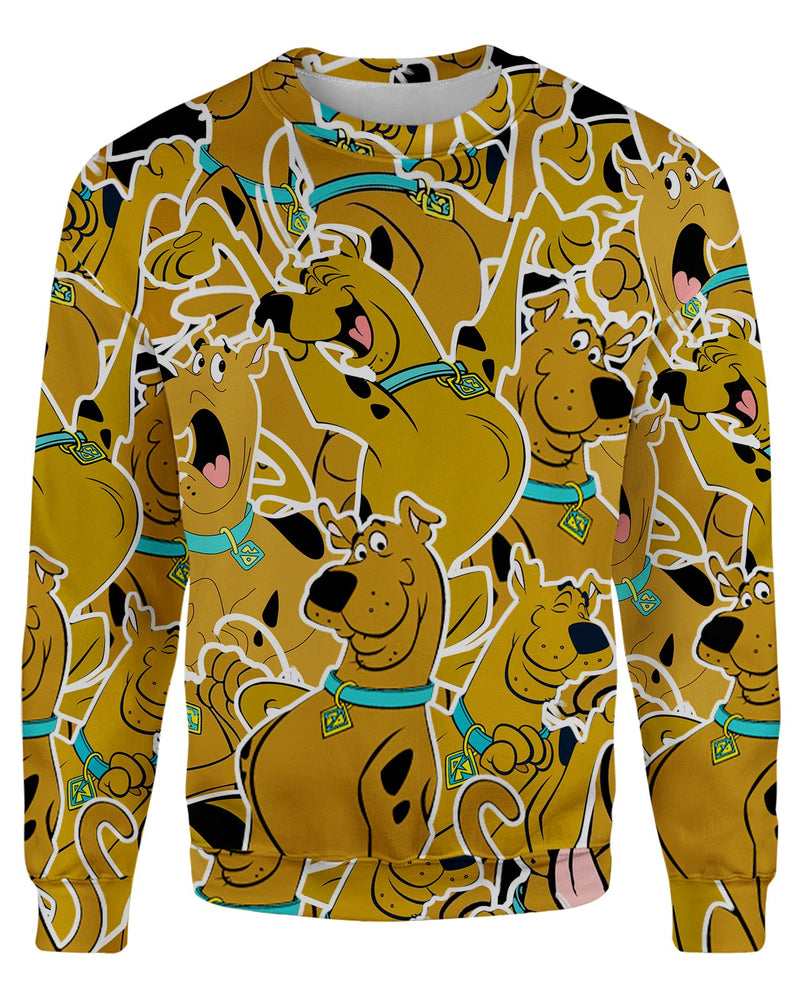 Scooby Doo printed all over in HD on premium fabric. Handmade in California.