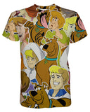 Scooby Doo Collage printed all over in HD on premium fabric. Handmade in California.