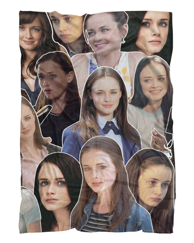 Rory Gilmore printed all over in HD on premium fabric. Handmade in California.
