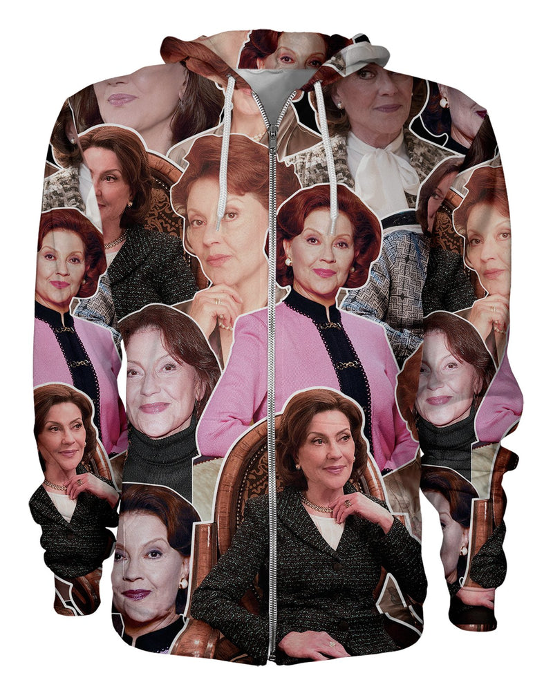Emily Gilmore printed all over in HD on premium fabric. Handmade in California.