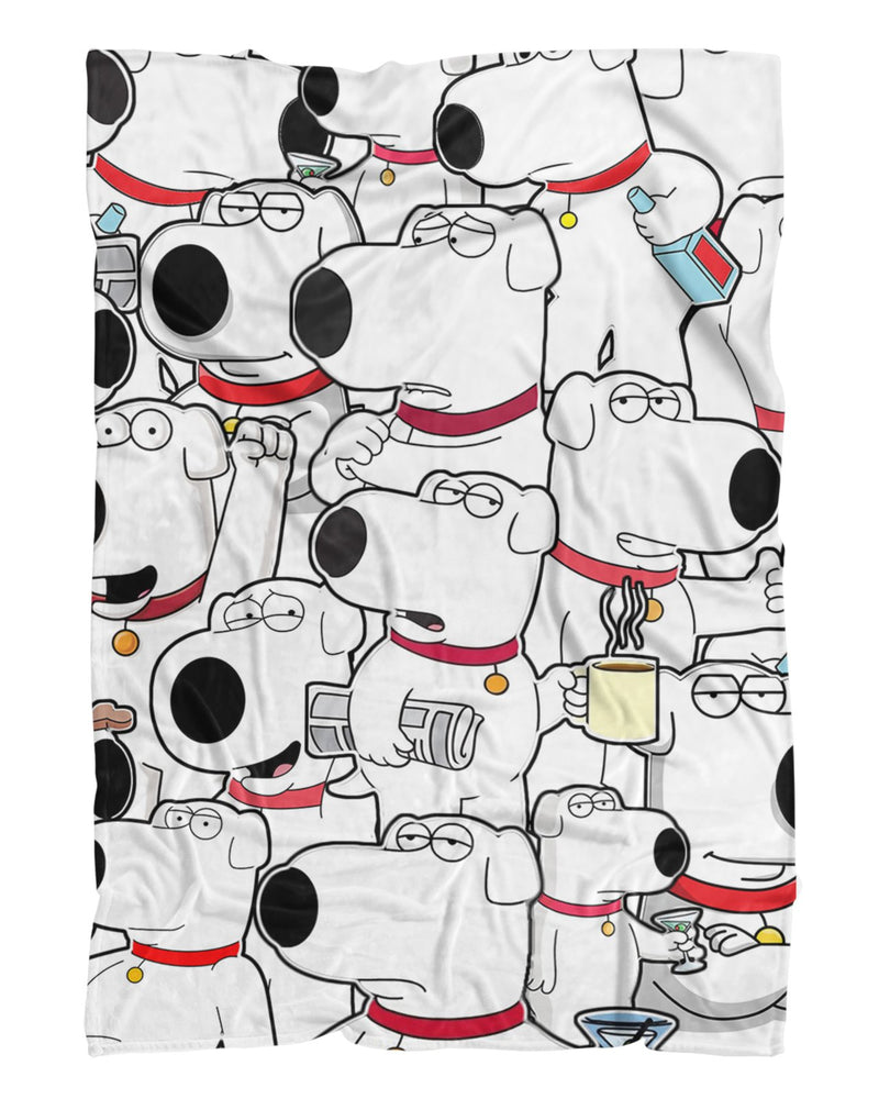Brian Griffin printed all over in HD on premium fabric. Handmade in California.