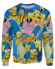 Marge Simpson Women's Sweatshirt