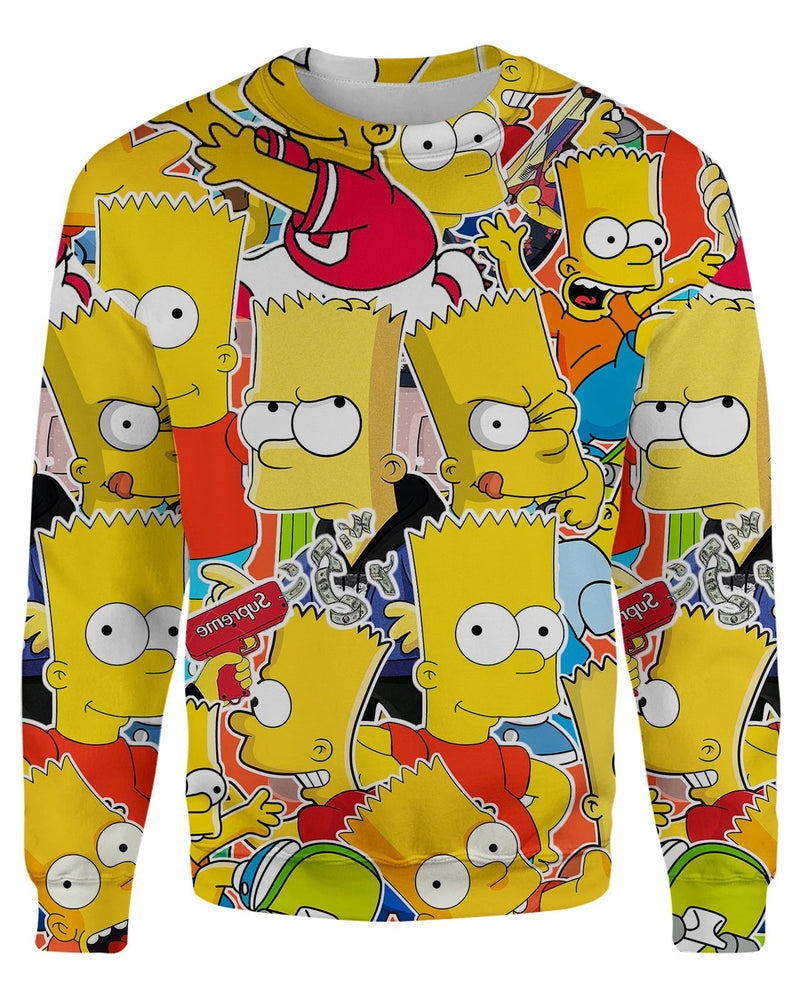 Bart Simpson Women's Sweatshirt