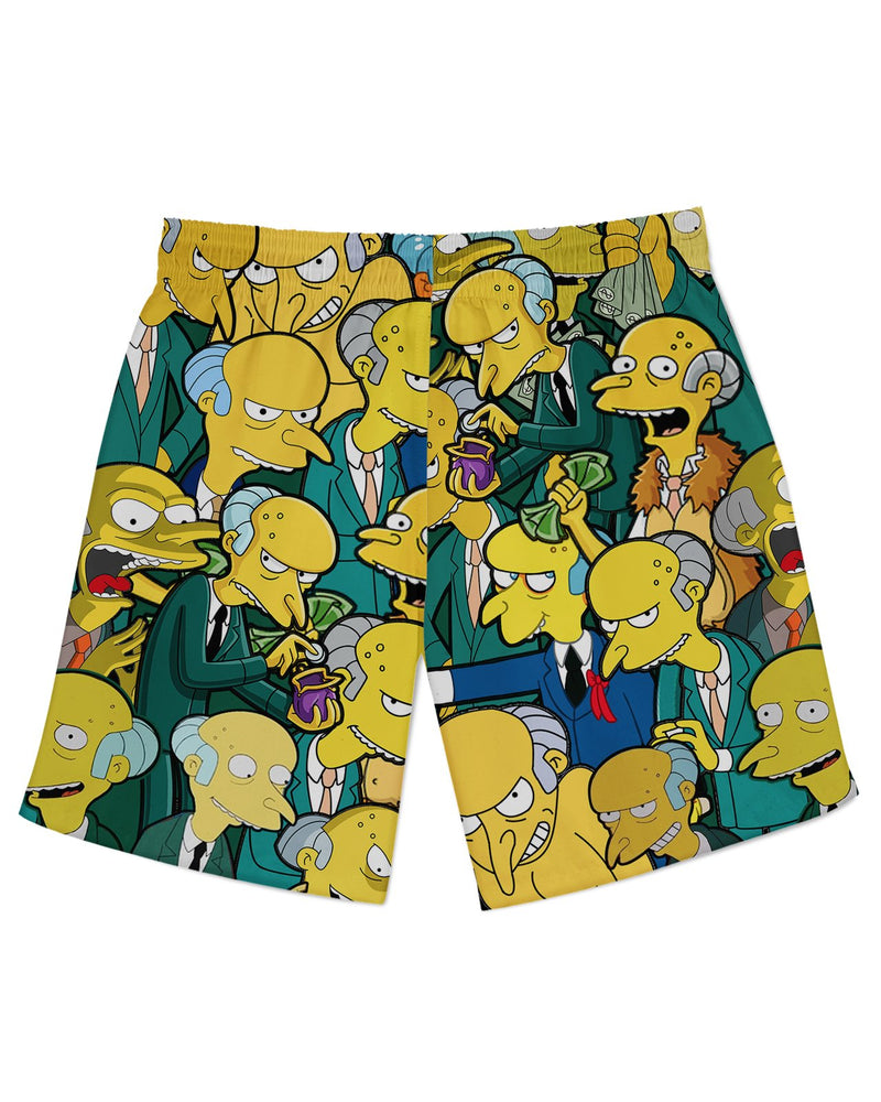 Charles Montgomery Burns Athletic Shorts
