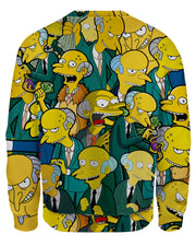 Charles Montgomery Burns Women's Sweatshirt