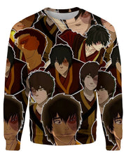 Prince Zuko printed all over in HD on premium fabric. Handmade in California.