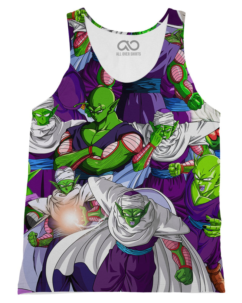Piccolo printed all over in HD on premium fabric. Handmade in California.