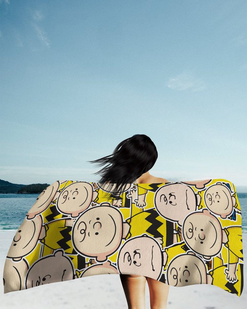 Charlie Brown Beach Towel