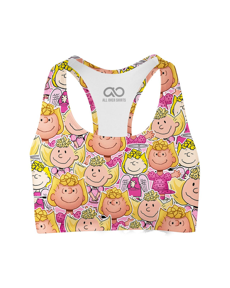 Sally Brown printed all over in HD on premium fabric. Handmade in California.