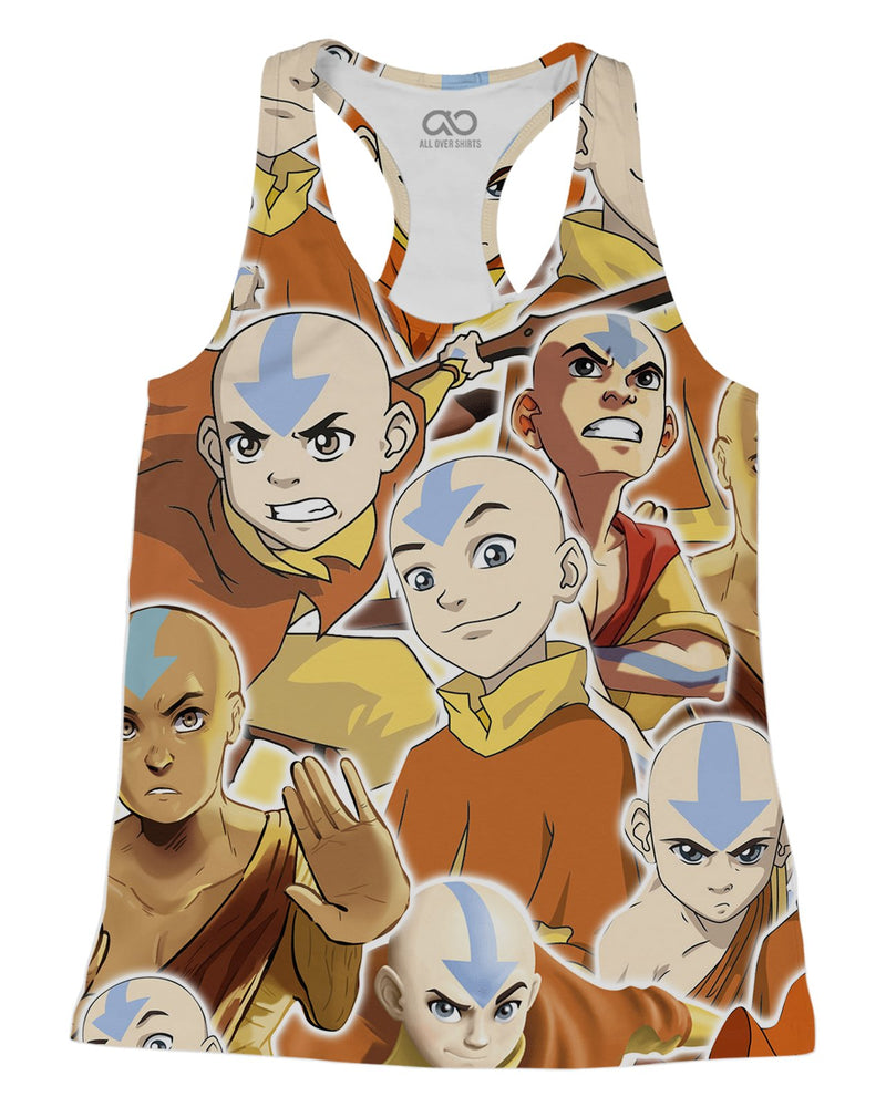 Aang printed all over in HD on premium fabric. Handmade in California.