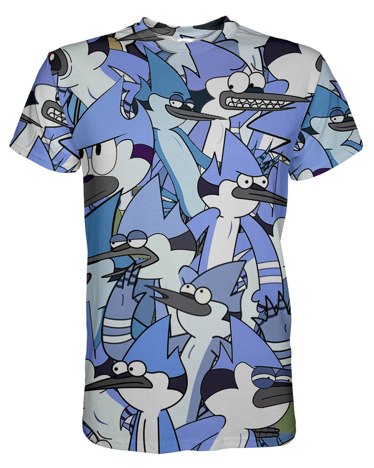 Mordecai printed all over in HD on premium fabric. Handmade in California.