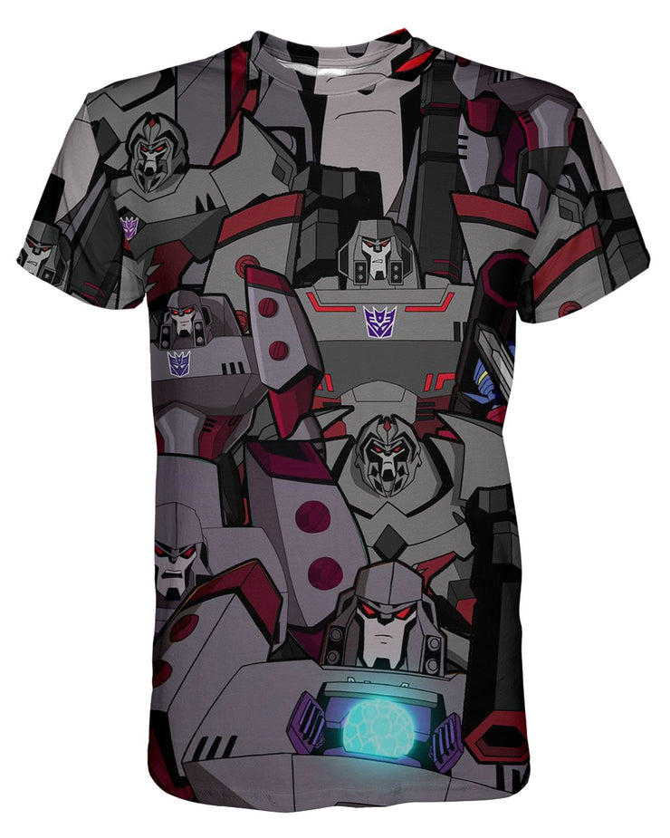 Megatron printed all over in HD on premium fabric. Handmade in California.