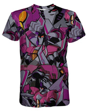 Starscream printed all over in HD on premium fabric. Handmade in California.