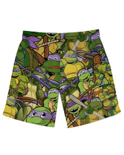 Donatello Athletic Shorts