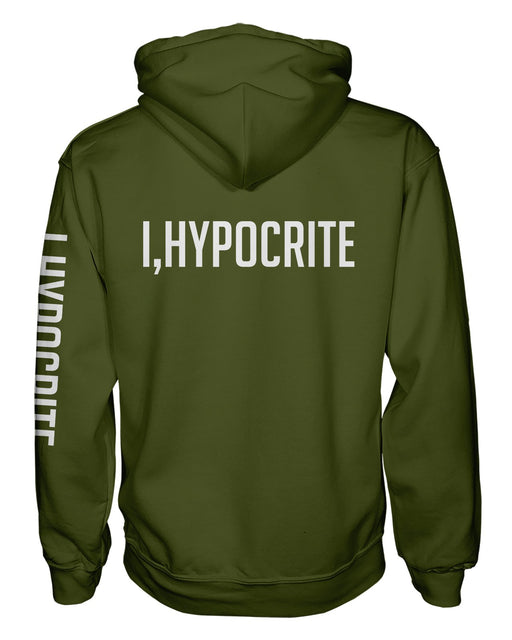 I Hypocrite Green Pullover Hoodie
