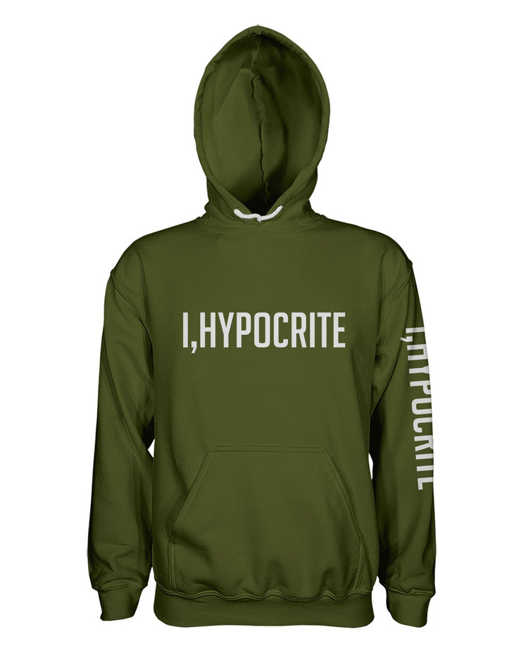 I Hypocrite Green Women's Pullover Hoodie