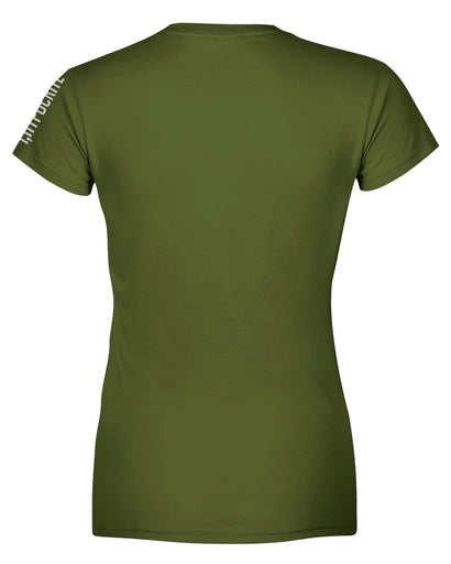 I Hypocrite Green Womens T-shirt