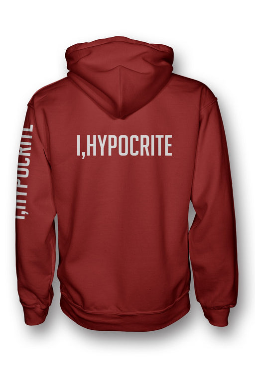 I Hypocrite Red Pullover Hoodie