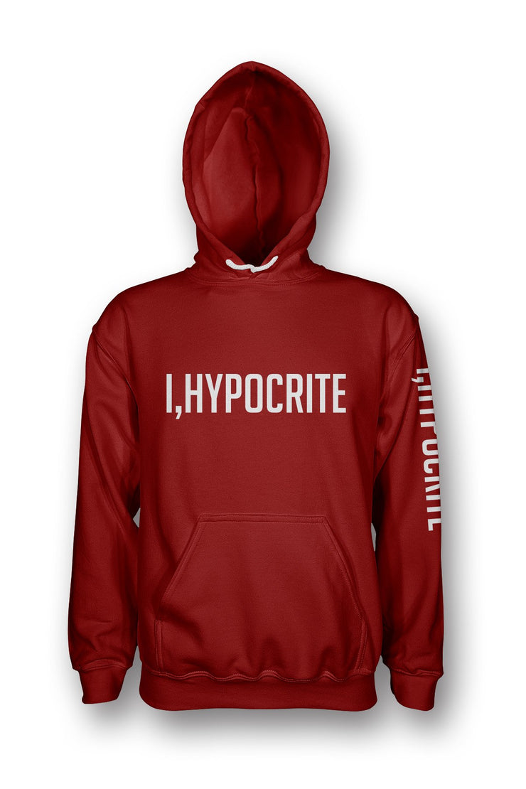 I Hypocrite Red Women's Pullover Hoodie