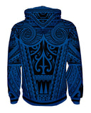 Ta Tau Black and Blue Pullover Hoodie