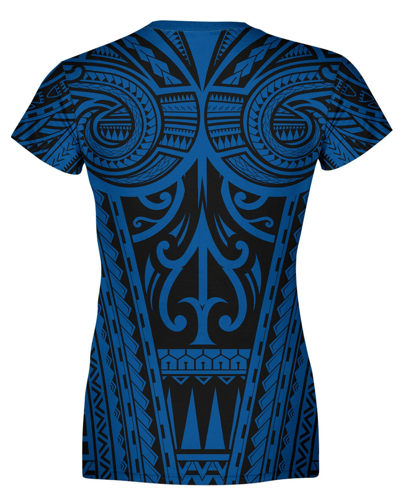 Ta Tau Black and Blue Women's T-shirt