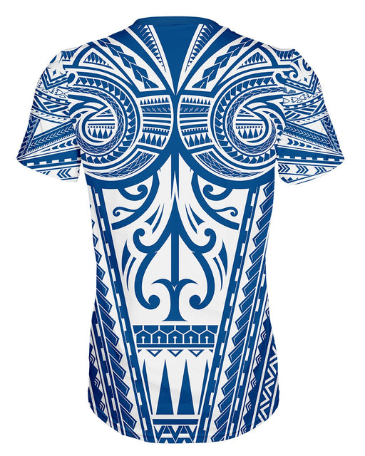 Ta Tau White and Blue T-shirt