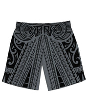 Ta Tau Grey Athletic Shorts