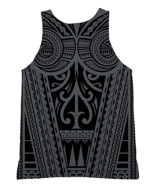 Ta Tau Grey Tank-Top