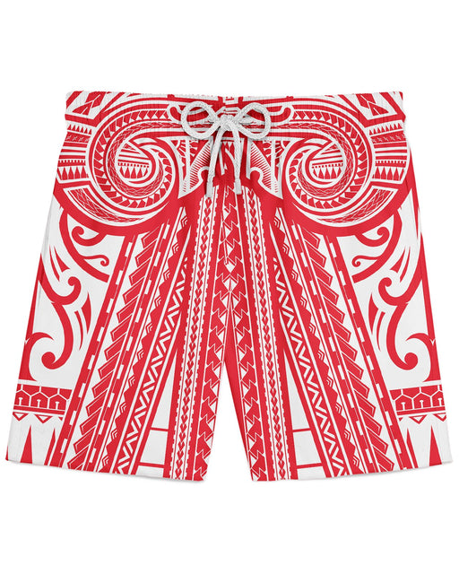 Ta Tau Red printed all over in HD on premium fabric. Handmade in California.