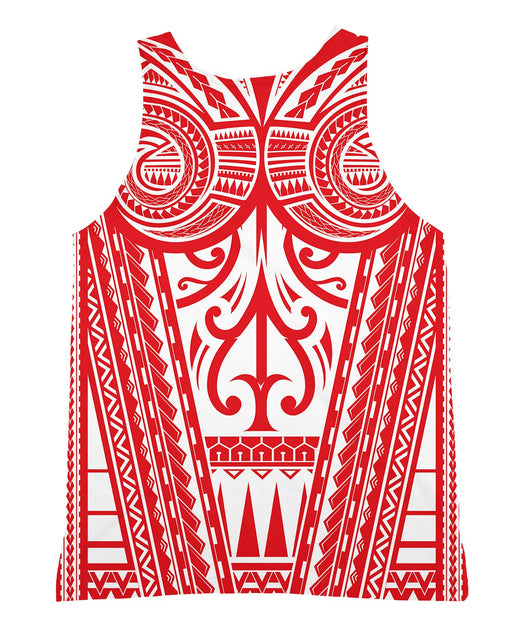 Ta Tau Red Tank-Top