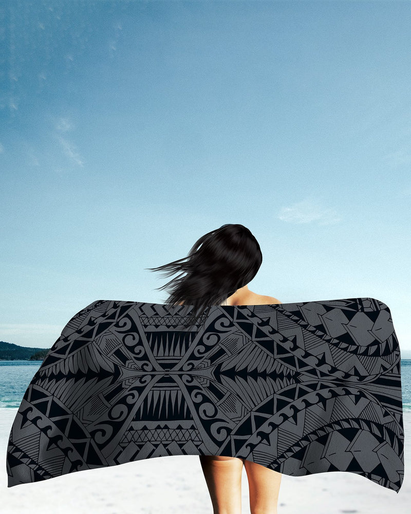 Samoa Grey Beach Towel