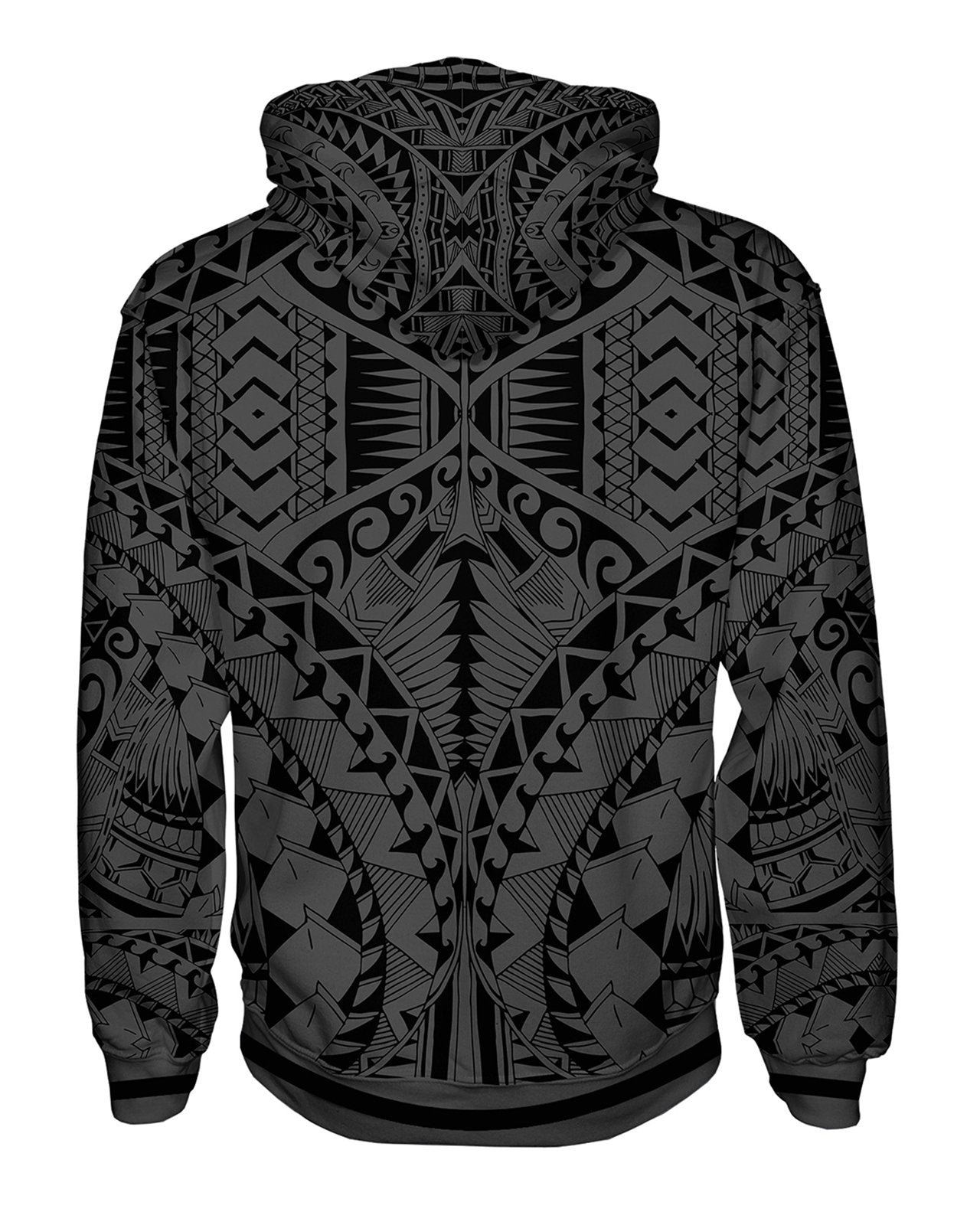 Samoa Grey Pullover Hoodie