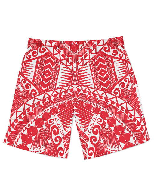 Samoa Red Athletic Shorts
