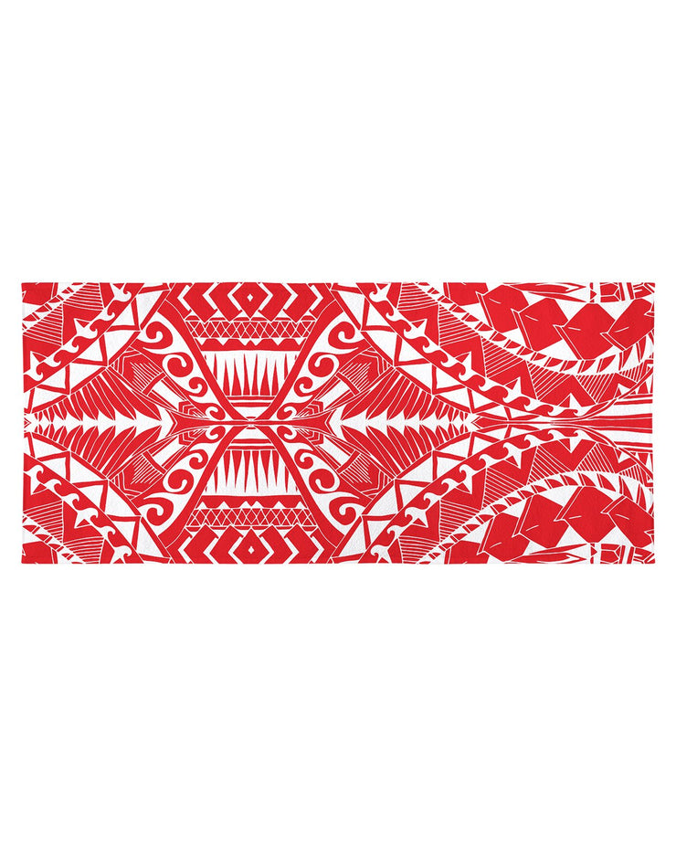 Samoa Red Beach Towel