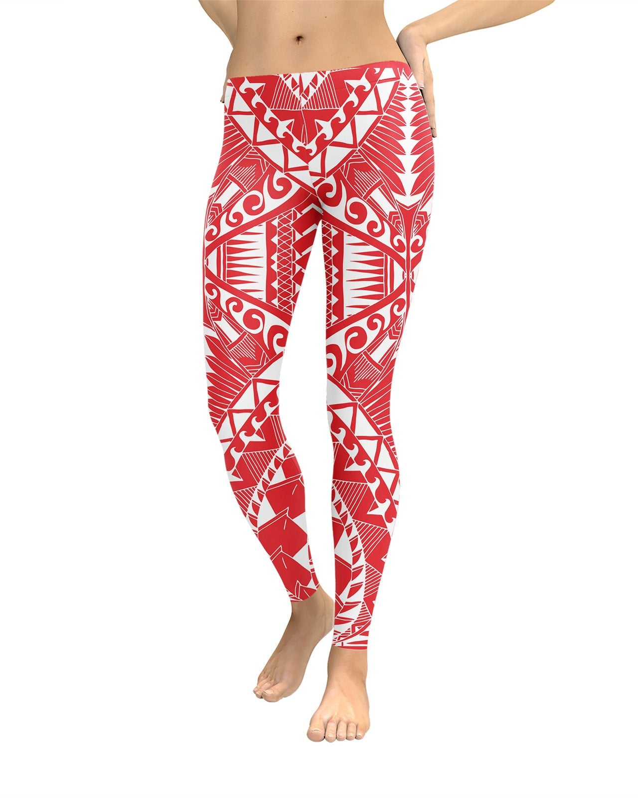 Samoa Red Leggings
