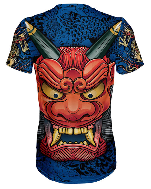 Oni Mask Blue T-shirt