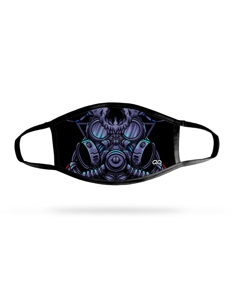 Cat Gas Mask Premium Face Mask
