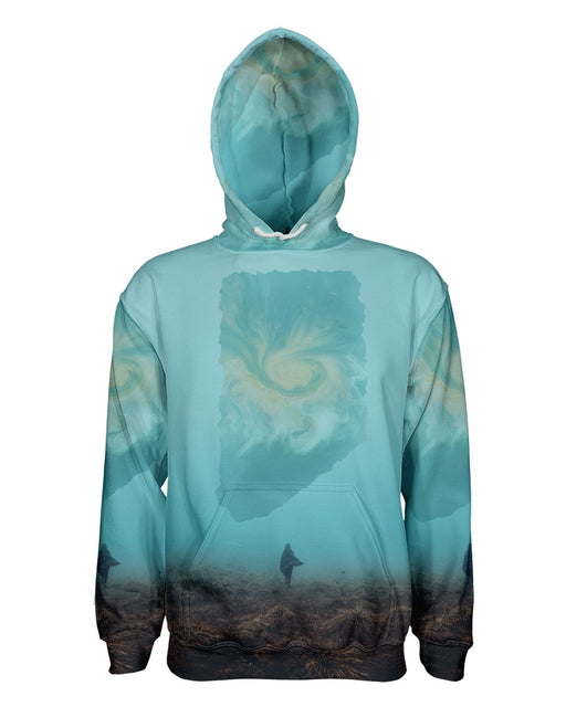 Lone Traveler printed all over in HD on premium fabric. Handmade in California.