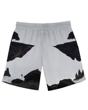 Floating Island Athletic Shorts
