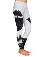 Floating Island Yoga Leggings